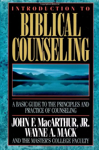 Introduction to Biblical Counseling   1994 edition cover