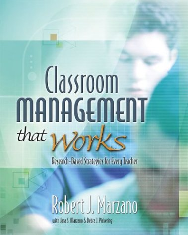 Classroom Management That Works Research-Based Strategies for Every Teacher  2003 edition cover