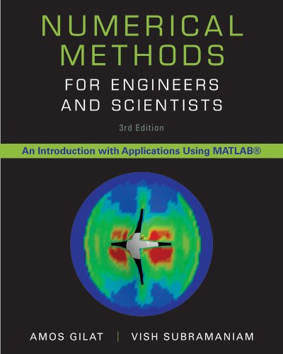 Numerical Methods for Engineers and Scientists  3rd 2014 9781118554937 Front Cover