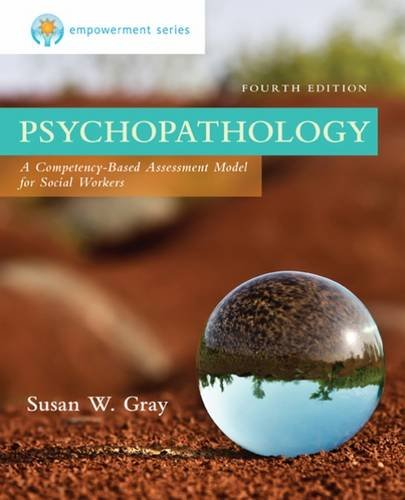 PSYCHOPATHOLOGY 4th 2015 9781305101937 Front Cover