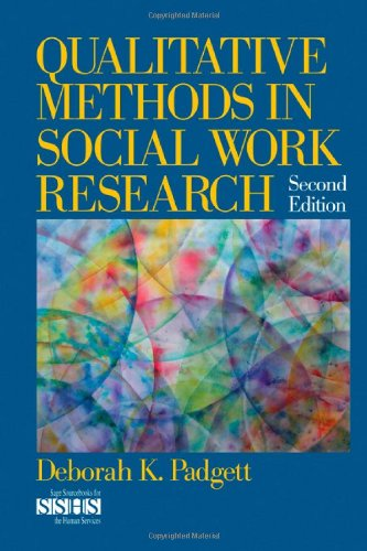 Qualitative Methods in Social Work Research  2nd 2008 edition cover