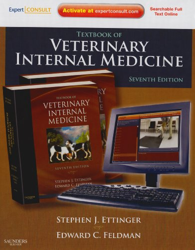 Textbook of Veterinary Internal Medicine  7th 2010 edition cover