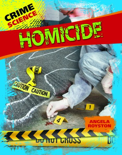 Homicide:   2013 edition cover
