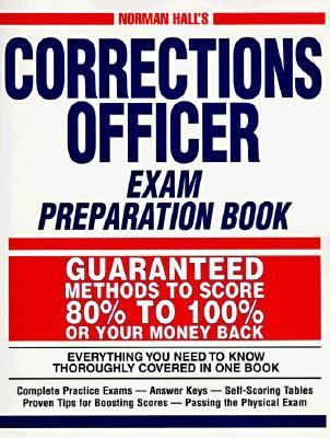 Corrections Officer Exam Preparation Book  Revised  9781558507937 Front Cover