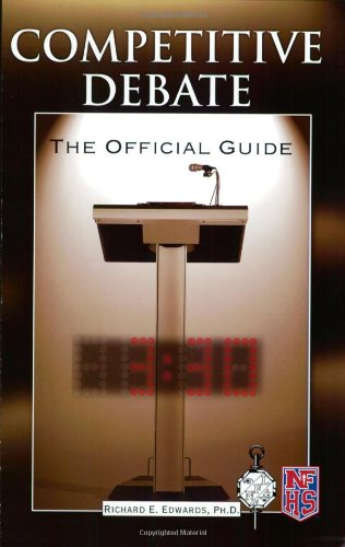 Competitive Debate Official Guide N/A 9781592576937 Front Cover