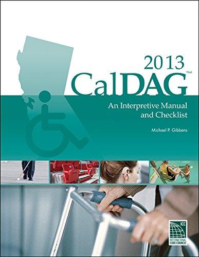 CalDAG 2013 an Interpretive Manual and Checklist   2014 edition cover