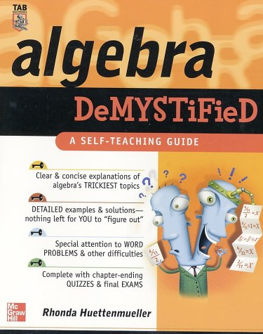 Algebra Demystified  2003 9780071389938 Front Cover