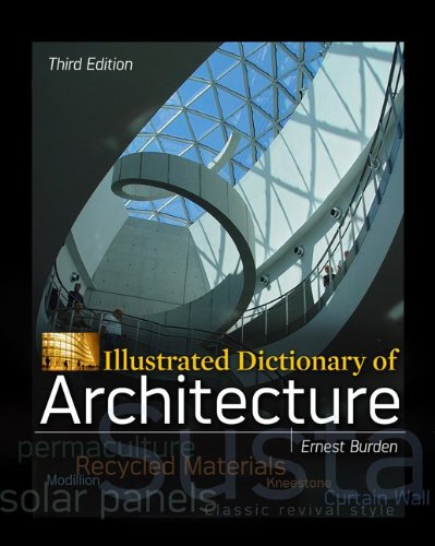 Illustrated Dictionary of Architecture  3rd 2012 edition cover