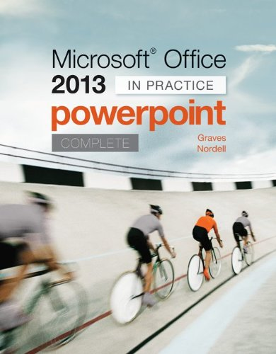Microsoft Office PowerPoint 2013 Complete: in Practice   2014 edition cover