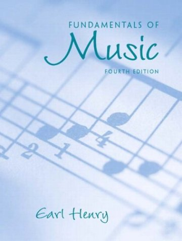 Fundamentals of Music  4th 2004 edition cover