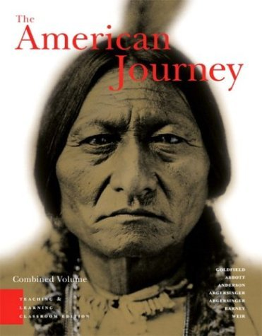 American Journey, Teaching and Learning Classroom Edition  3rd 2005 edition cover