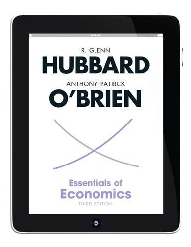 Essentials of Economics  3rd 2013 (Revised) 9780132826938 Front Cover