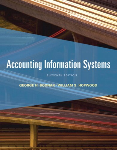 Accounting Information Systems  11th 2013 (Revised) edition cover