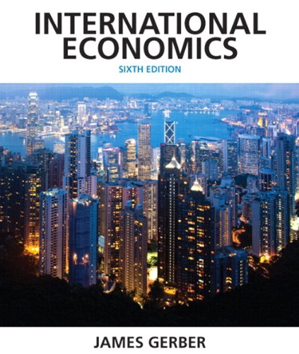 International Economics Plus NEW MyEconLab with Pearson EText -- Access Card Package  6th 2014 edition cover