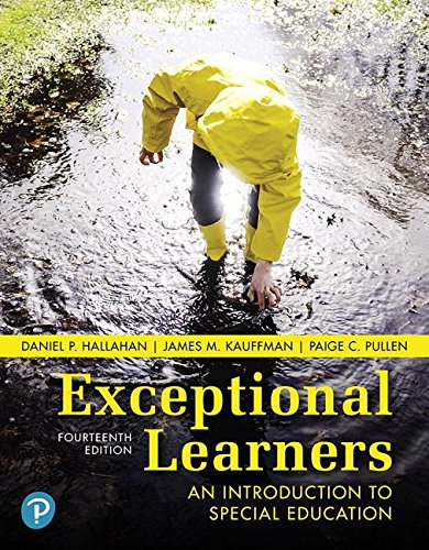 Exceptional Learners An Introduction to Special Education 14th 2019 9780134806938 Front Cover