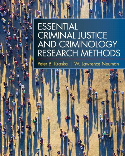 Essential Criminal Justice and Criminology Research Methods   2011 edition cover