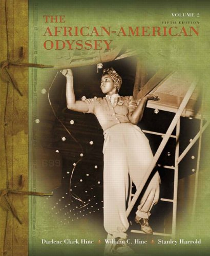 African-American Odyssey  5th 2011 edition cover