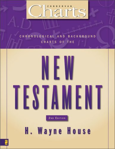 Chronological and Background Charts of the New Testament  2nd 2009 edition cover