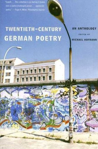 Twentieth-Century German Poetry An Anthology N/A 9780374530938 Front Cover