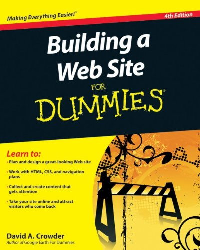 Building a Web Site for Dummies�  4th 2010 edition cover