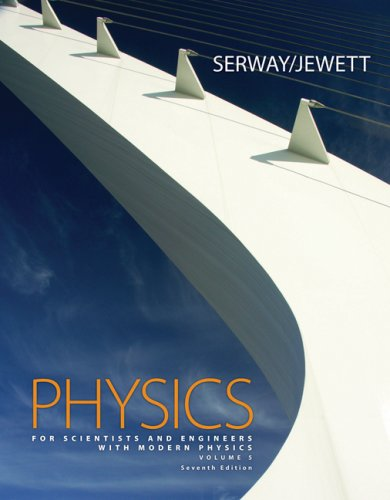 Physics for Scientists and Engineers with Modern Physics 5 Chapters 39-46 7th 2008 9780495112938 Front Cover