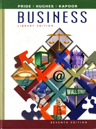 Business  7th 2002 9780618115938 Front Cover