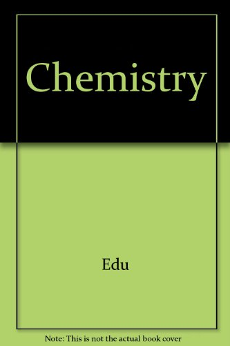 Chemistry 7th Edition with Cd Plus Eduspace 7th 2007 9780618834938 Front Cover