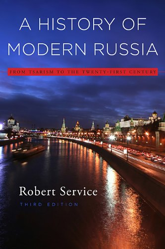 History of Modern Russia From Tsarism to the Twenty-First Century 3rd 2009 edition cover