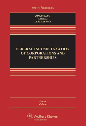 Federal Income Taxation of Corporations and Partnerships  4th 2008 (Revised) edition cover