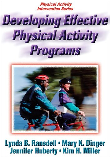 Developing Effective Physical Activity Programs   2009 edition cover