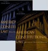 American Constitutional Law Liberty, Community, and the Bill of Rights 2nd 2004 9780742526938 Front Cover
