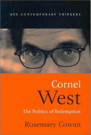Cornel West The Politics of Redemption  2002 9780745624938 Front Cover