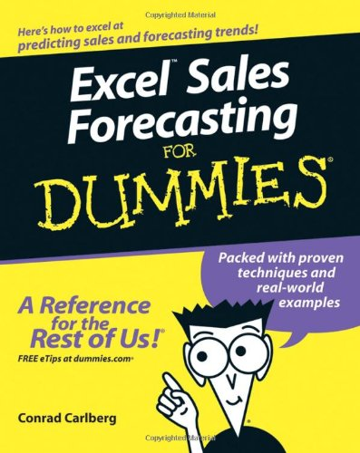 Excel Sales Forecasting for Dummies   2005 edition cover