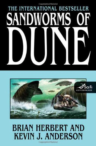 Sandworms of Dune   2007 edition cover