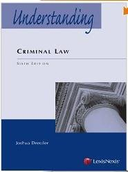 Understanding Criminal Law  6th 2012 edition cover