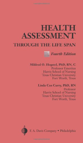 Health Assessment Through the Life Span  4th 2005 (Revised) edition cover