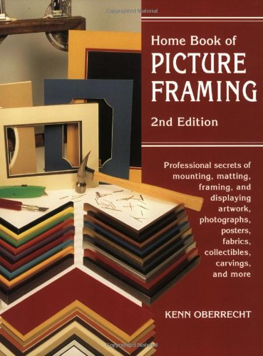Home Book of Picture Framing  2nd 1998 edition cover