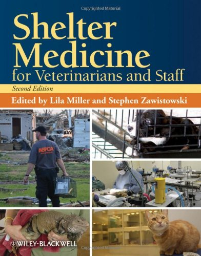 Shelter Medicine for Veterinarians and Staff  2nd 2013 edition cover
