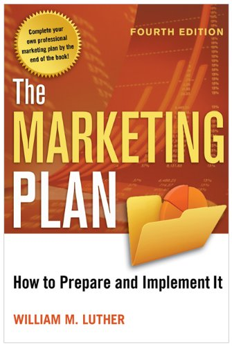 Marketing Plan How to Prepare and Implement It 4th 2011 edition cover