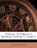 Voyage D'Horace À Brindes N/A edition cover
