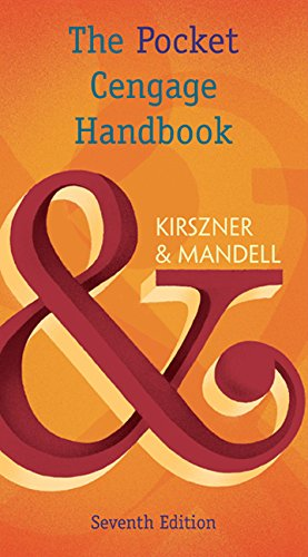The Pocket Cengage Handbook:   2016 edition cover