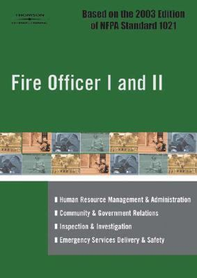 Fire Officer I and II   2005 9781401882938 Front Cover