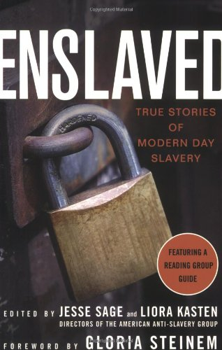 Enslaved True Stories of Modern Day Slavery  2008 edition cover