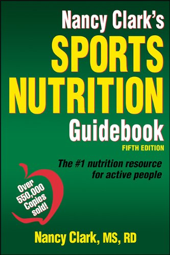 Nancy Clark's Sports Nutrition Guidebook-5th Edition  5th 2013 edition cover