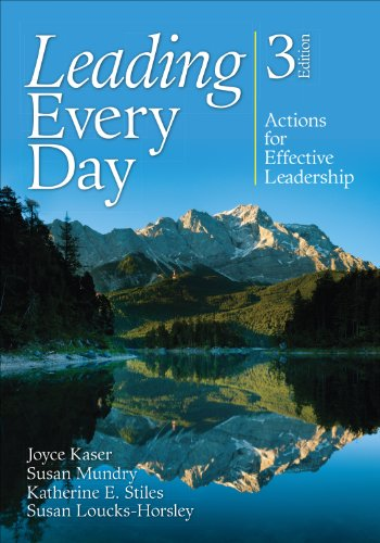 Leading Every Day Actions for Effective Leadership 3rd 2013 edition cover