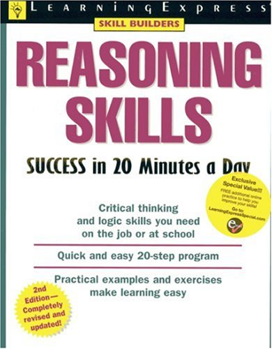 Reasoning Skills Success in 20 Minutes a Day  2nd 2005 (Revised) 9781576854938 Front Cover