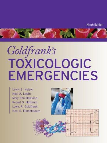 Goldfrank's Toxicologic Emergencies  9th 2010 edition cover