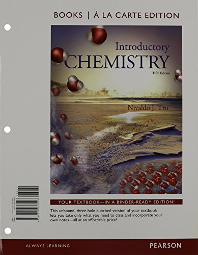 Introductory Chemistry, Books a la Carte Edition and Modified MasteringChemistry with Pearson EText -- ValuePack Access Card -- for Introductory Chemistry Package   2015 9780133877939 Front Cover