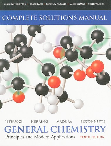 General Chemistry Principles and Modern Applications 10th 2011 9780135042939 Front Cover