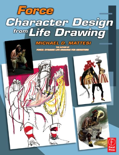 Force Character Design from Life Drawing  2008 edition cover